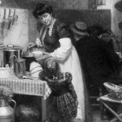 Que mangeait-on et buvait-on au XIXe siècle ?