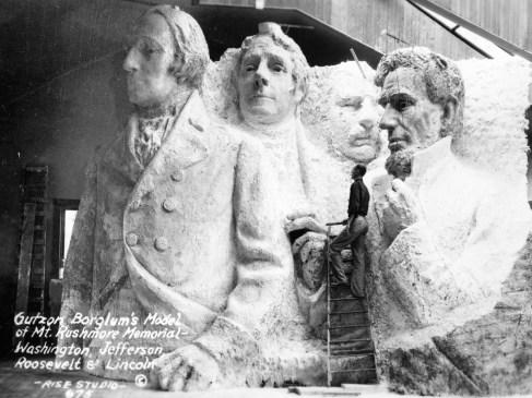 Rushmore, des millions d'années de présidents américains