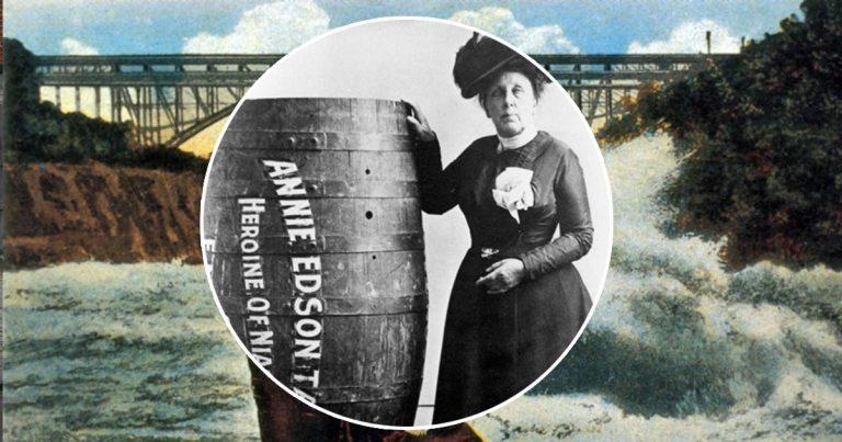 Annie Edson Taylor, l'Américaine qui a descendu les chutes du Niagara en tonneau pour financer sa retraite