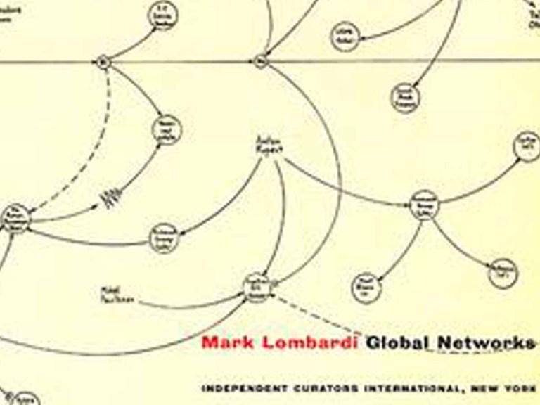 Mark Lombardi était un artiste d'investigation dans ses oeuvres