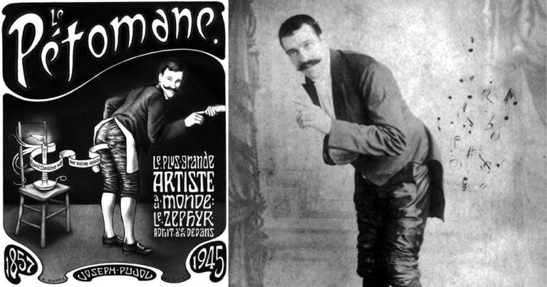 Joseph Pujol, le célèbre pétomane du Moulin Rouge : une carrière bâtie sur du vent