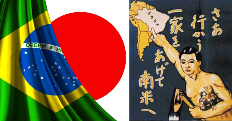 Après le Japon, c'est au Brésil qu'il y a le plus de Japonais … Pourquoi ?