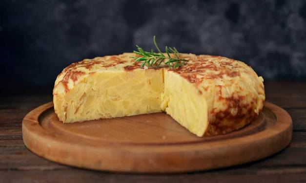 Receta Tortilla de patatas con Monsieur Cusine