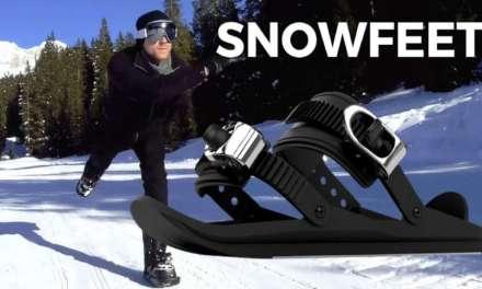 Esquiar sin skis, Mini Skis Snowfeet