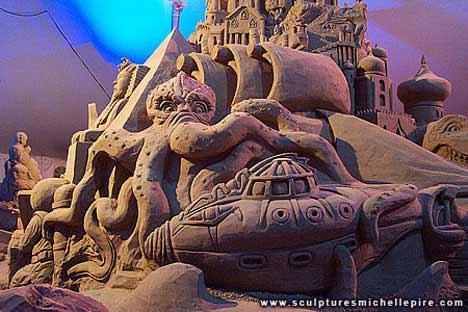 lepire1 Sensacionais Esculturas de Areia