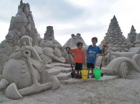 teamsandtastic1 Sensacionais Esculturas de Areia