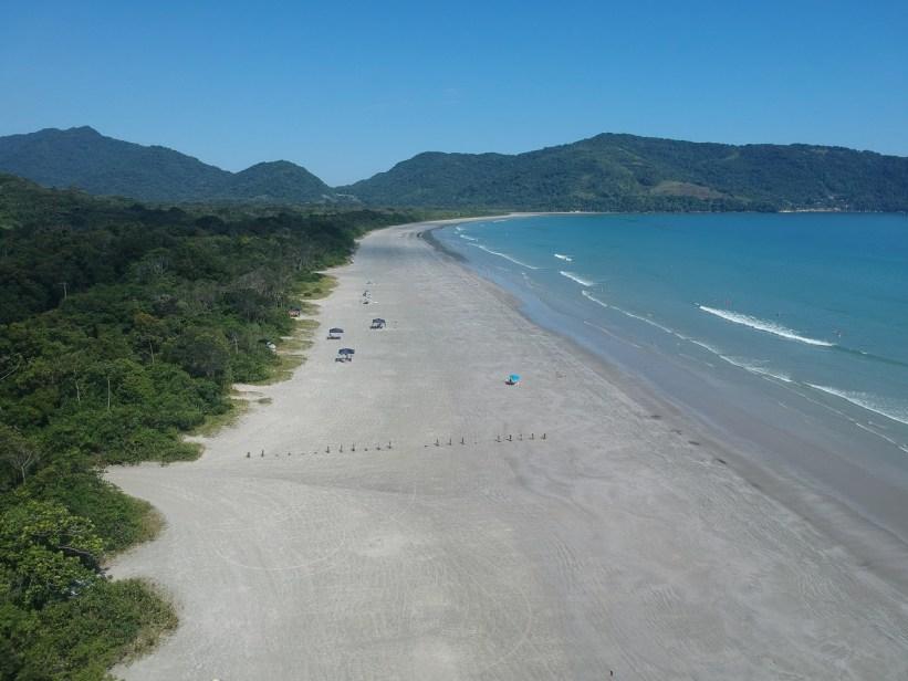 Praia da Fazenda - Vista Aérea