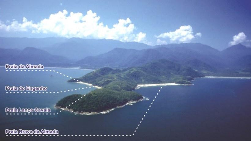Praia da Almada e Região
