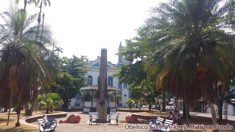 Obelisco, Coreto e Igreja Matriz