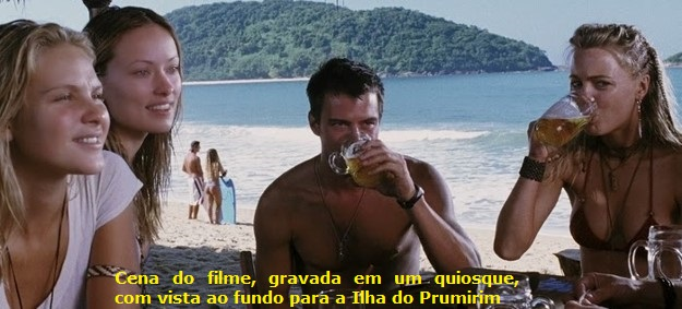 "Praia do Prumirim - Filme ""Turistas"""