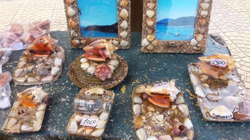 Artesanato com Conchas - Mirante Saco da Ribeira