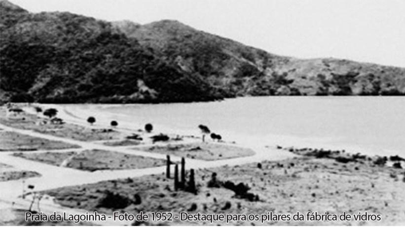 Praia da Lagoinha Foto de 1952