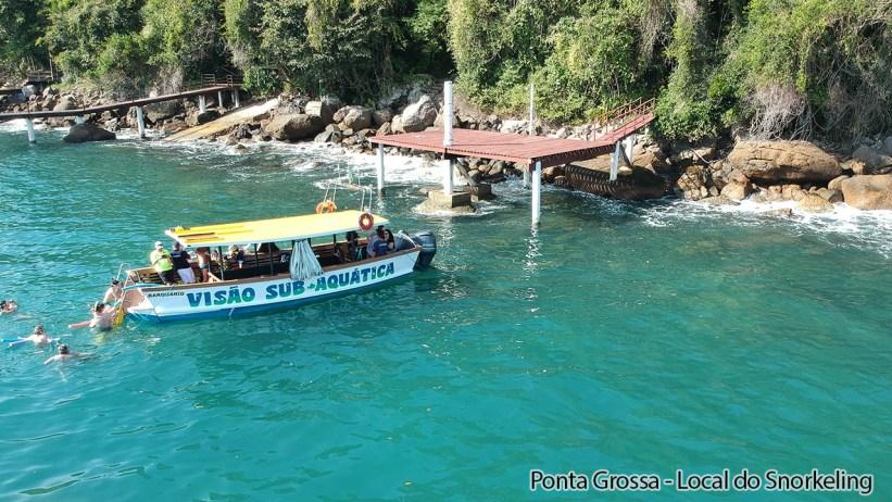 Barquario - Ponta Grossa - Snorkeling