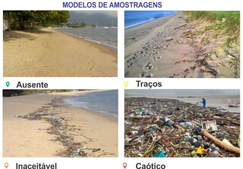 Argonauta - Modelo de amostra de lixo