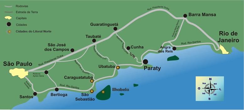 mapa-litoral norte