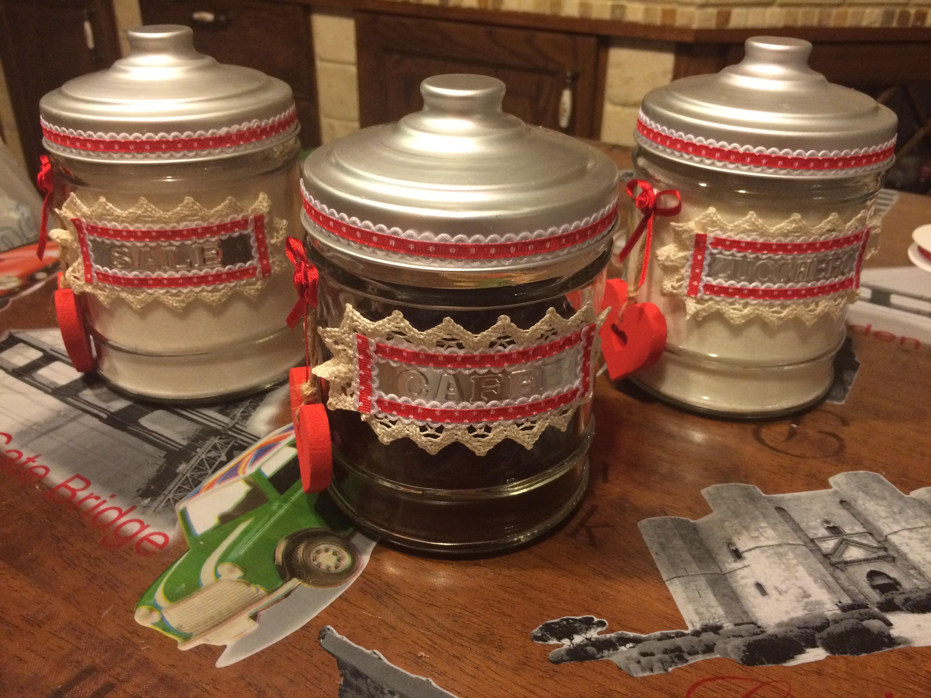 Come decorare dei barattoli per la cucina - Curiosi in Viaggio