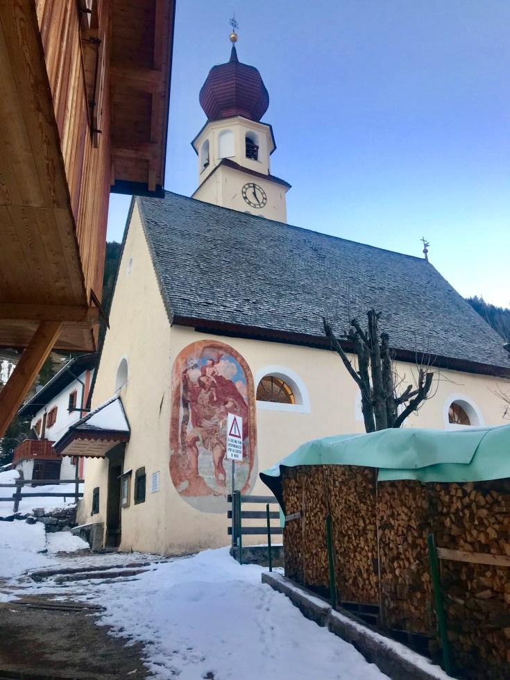 Chiesa Madonna della Neve, Canazei