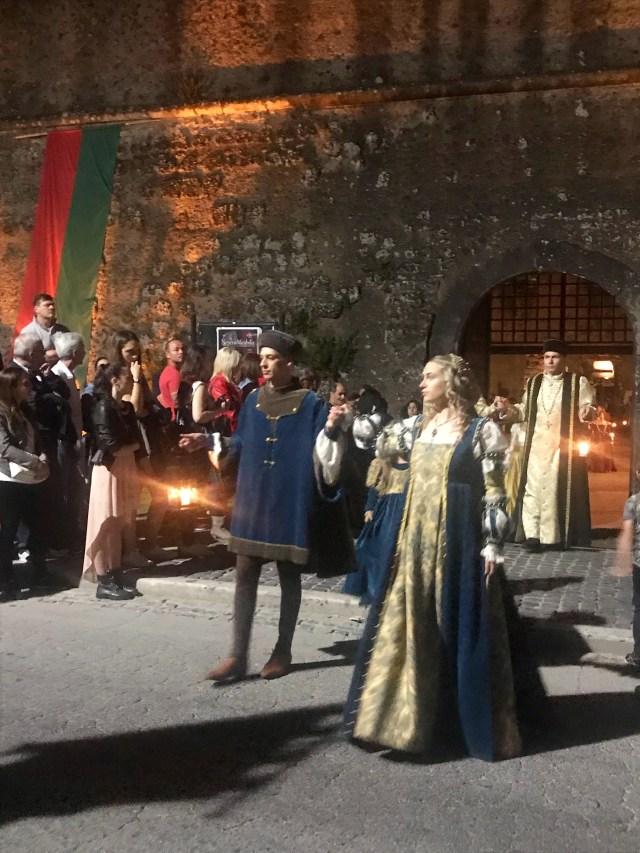 Festa delle Contrade Nepi, palio dei Borgia