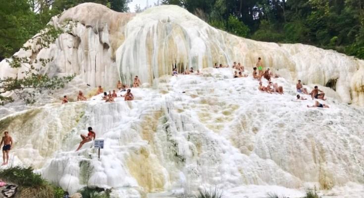 Terme gratis in toscana, bagni San Filippo