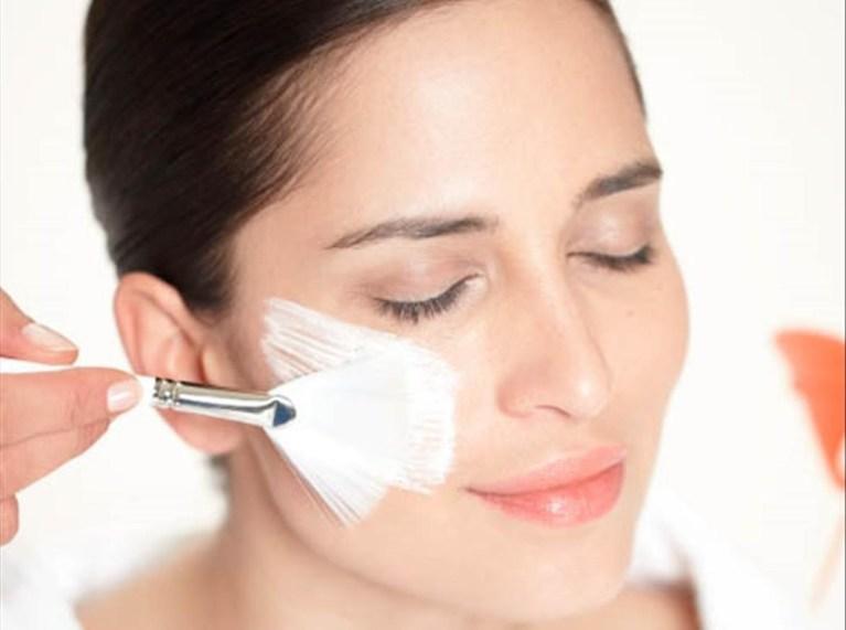 Diferentes tipos de piel facial