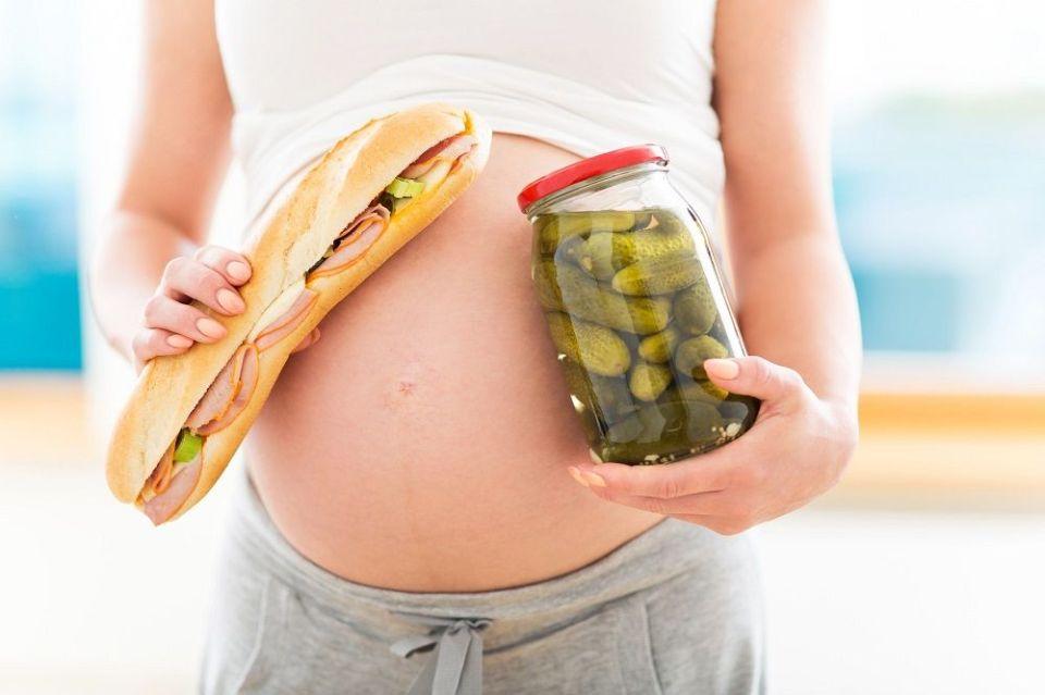 consumo de sal durante el embarazo