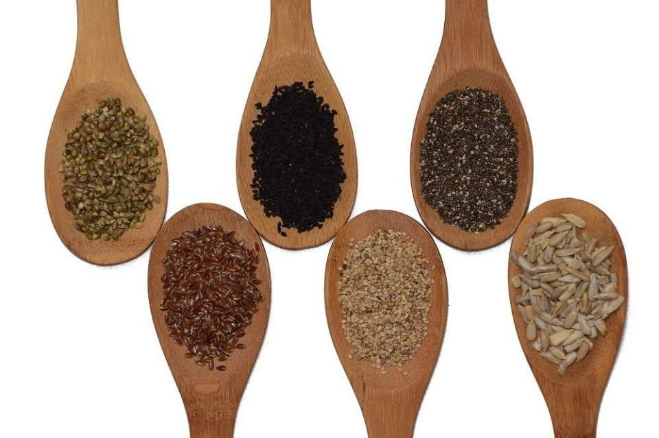 Las semillas contienen Omega-3