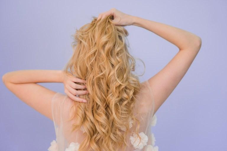 Formas de lavar el pelo en seco