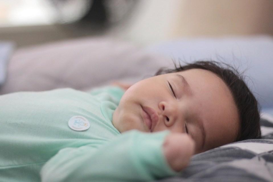 Mejor postura para dormir un bebé