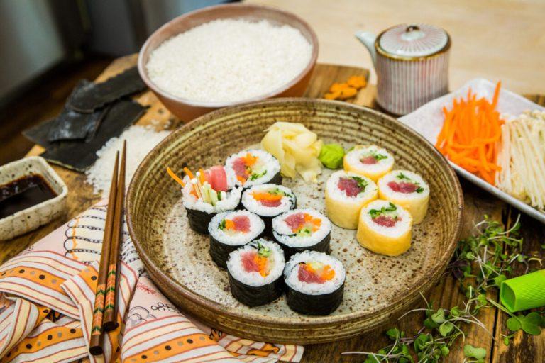 Guía definitiva para hacer sushi en casa