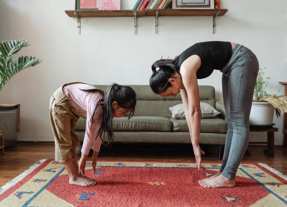 Sigue una rutina de stretching para antes de cada entrenamiento
