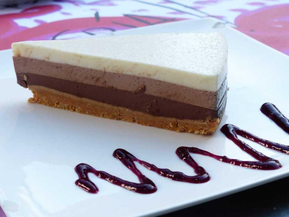 tarta tres chocolates thermomix