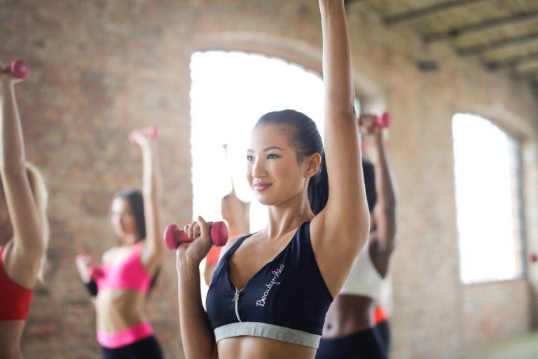 ejercicios con mancuernas para tonificar