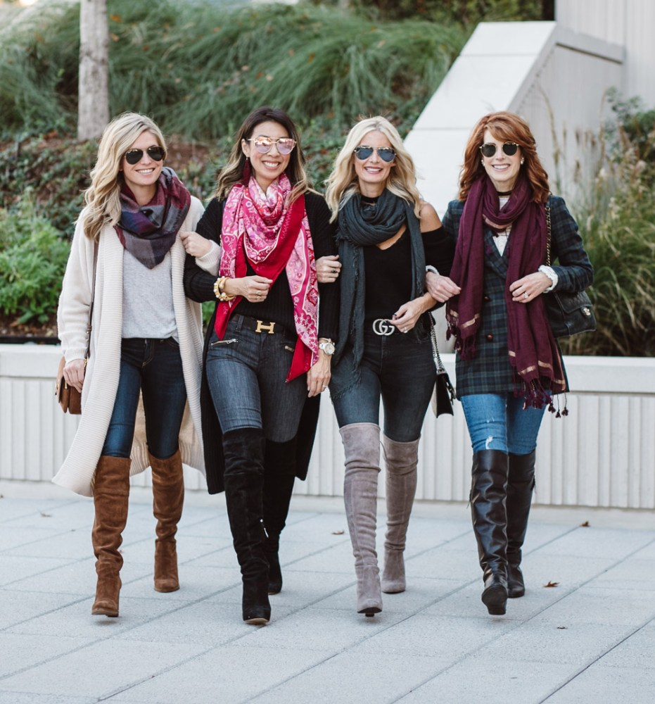 botas altas: en calzado para el otoño-invierno 2020