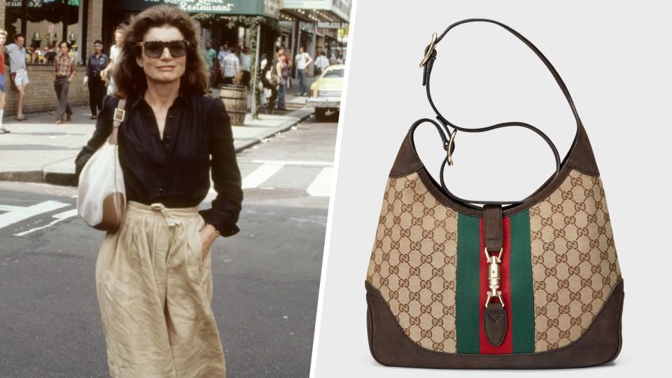Dentro de los bolsos icónicos encontramos el Jackie de Gucci