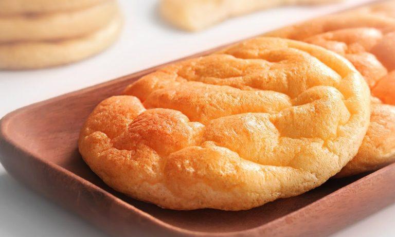 Receta de pan nube fácil