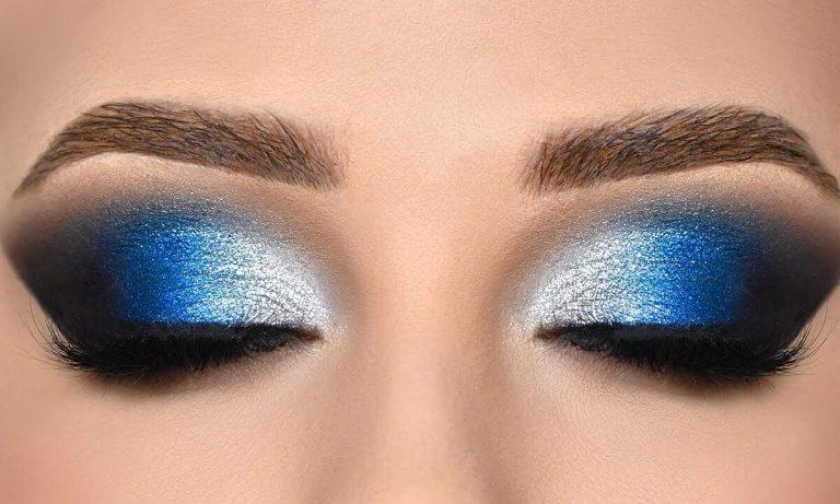 incorporar el azul en tu maquillaje