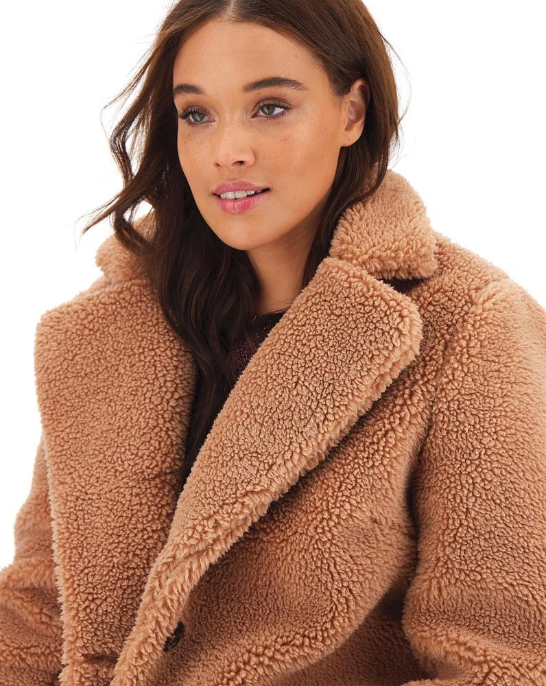 abrigo teddy