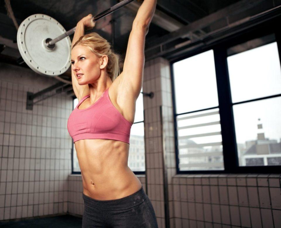 desarrollo muscular en mujeres