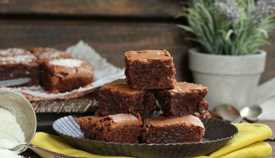 receta brownie saludable