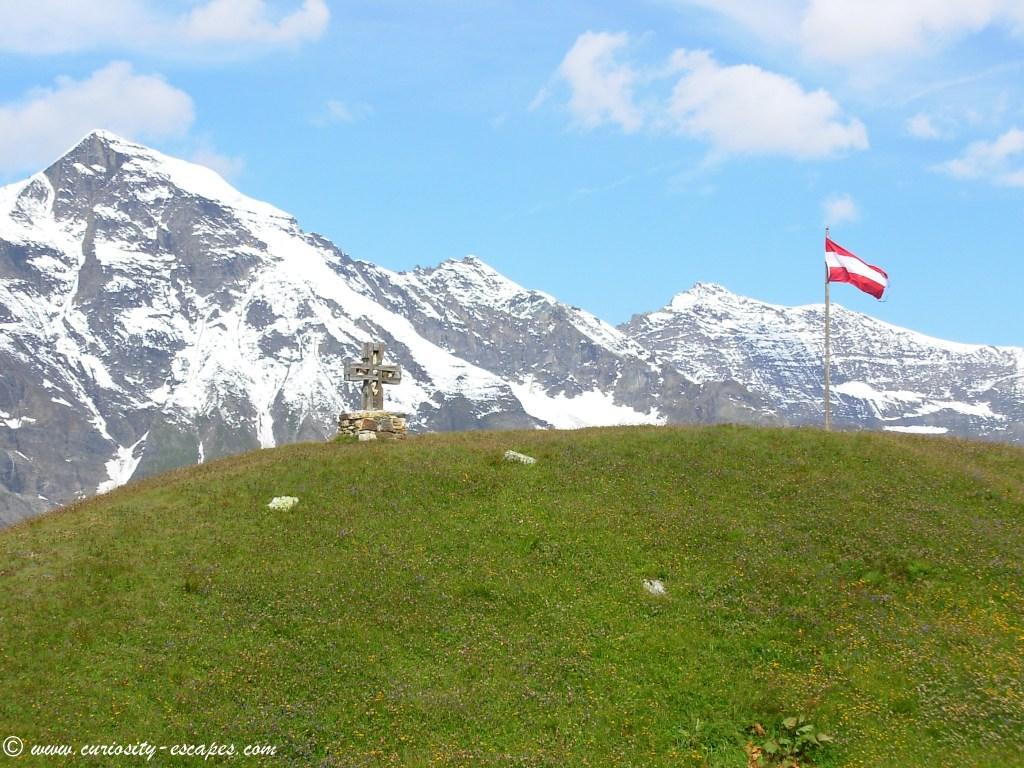 Grossglockner Hochalpenstrasse en août : région montagneuse d'Autriche