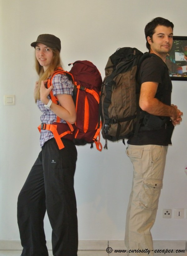 Backpacking adventure around North India