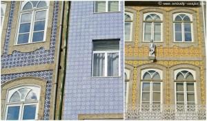façades d'azulejos portugaises