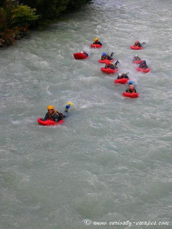 Hydrospeed à Chamonix