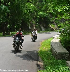 motards en Inde