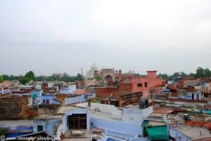 Taj Mahal dans un bidonville