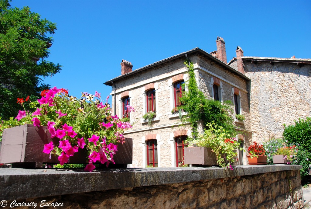 maison de pierres à Pérouges