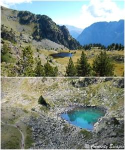 micro-lacs à Chamrousse