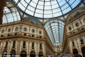 Galeries Vittorio Emanuele de Milan