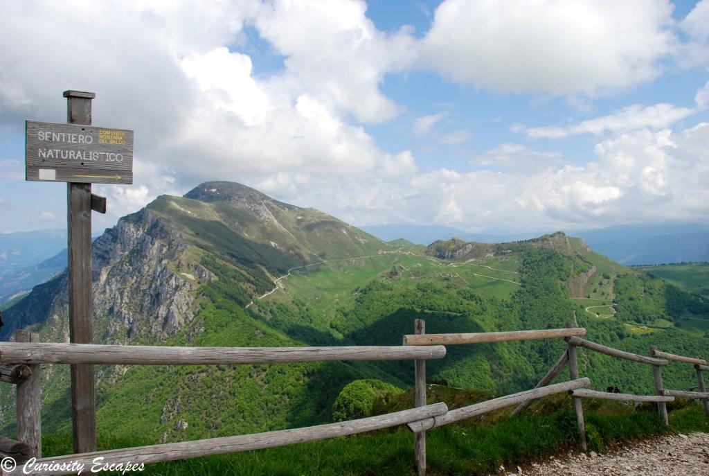 Sentiers au Monte Baldo