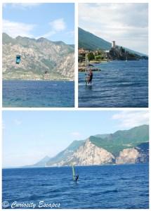 Sports nautiques au Lac de Garde